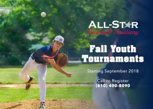 Fall Youth Tournaments 610-400-8090